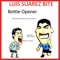 beer bottle image - Hot New Arrival Luis Alberto Suarez Bottle Opener in World Cup With Vivid Bite Image Creative beer bottle opener cooking tools