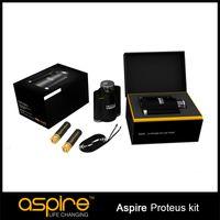 Venta al por mayor -100% Original Aspire Proteus Aspire e-hookah / A dual 18650 cachimba vaporizador solución LED de Skey