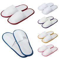 Wholesale 2015 Hot Sale Pair Polar Fleece Disposable Slipper Hotel Amenities Multicolor Optional Slippers