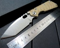 best deserts - New Tactical Survival Folding Knife Strider Custom SMF Desert G10 Handle MSC Stainless Steel Blade Best quality