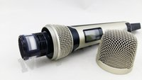 best wireless microphone for karaoke - Top Quality SKM9000 Best for Stage Professional SKM SKM5200 Golden Handheld Wireless Microphone System
