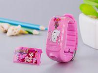 Wholesale Mini Bracelet GSM phone function SOS Smart Wristband Smartwatch GPS Tracker for Child Kids Remote Mini Camera Control call back Tracker