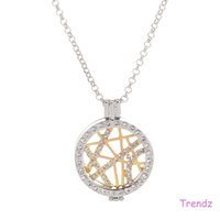 Wholesale Mi Moneda My Coin Open Locket Holder Necklace Pendant With cm Link Chain PopularBest Gift Ladies MID015