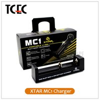 battery charger monitor - Authentic XTAR MC1 CHARGER SINGLE SLOT CHARGER Micro USB charging interface Temperature Monitoring System TC CC CV fit battery