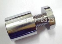Wholesale D12 mm Brush Hollow SS Standoff Pins with Free TNT DHL Shipping