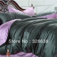 Cheap lilac silk Best tencel bed