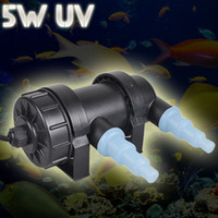 Wholesale Jebo V V W L H Aquarium UV Sterilizer Light Lamp Clarifier Pond Fish Reef Coral Tank