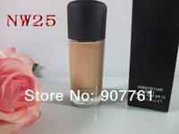 Wholesale 1PCs Top Quality Professional Brand MC Makeup STUDIO FIX FLUID SPF15 FOUNDATION ML NW20 NW25 NW30 NW35 NW40 NW45