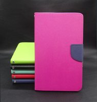 magnetic fashion - For Apple iPad mini inch tablet Leather case Folio Magnetic Wallet Case KickStand holster For iPad mini leather tablet Cover cases