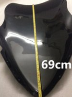 Wholesale black High quality PC For Yamaha Boat TMAX windshield tmax windshield heightening CM high