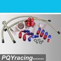 ae store - J2 Racing Store AE style MGTE MKIII Fuel Pressure Regulator with hose line kits Fittings Gauge Red