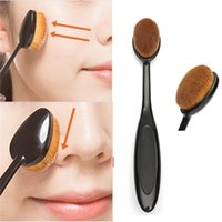 beauty sets for girls - Oval Cream Power Makeup Brush Women Pro Cosmetic Blush Puff Cosmetic Foundation Blend Beauty Brushes Tools Maquiagem Brush for lady girls