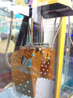arcade game machine - Gold Candy Crane game machine Claw with coil Claw Catch Candy kit Candy Catcher Arcade Machine Gantry assembly