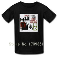 albert king t shirt - T shirts Born Under A Bad Sign Albert King Print Men Casual Cotton Short T Shirt