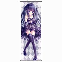 Wholesale DIY build Moonlight tea party cartoon poster hanging scroll painting canvas animation around