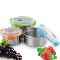 airtight canisters - 2016 hot sale stainless steel food storage box canister with lock lid food container airtight Canister
