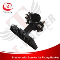 basket bracket - High Quality Steel amp Plastic Mounting Bracket for Quick Release Basket of Foldable Electric Scooter amp Gas Scooter Free