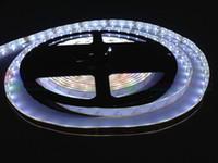 Cheap TRICOLOUR 12V waterproof led strip 3528 SMD 60LEDs M 300leds 5m roll Flexible singal color LED bar light 40m lot 8rolls #L043