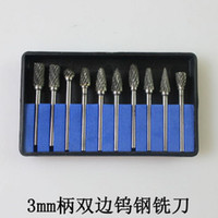 Wholesale set quot shaft tungsten carbide for dremel tools grinding accessories