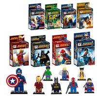alliance plastic - New Super Heroes avengers alliance Building Blocks minifigures figures style