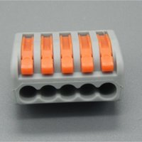 Wholesale 20 pieces Electrical Terminals AWG Series pins WAGO Universal Compact Wire Wiring Connector WK0242