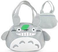 big satchel handbags - TOTORO Plush Doll Cartoon Backpack Soft Stuffed Toys Bags TOTORO handbags Totoro bag Fashion bags TOTORO style shoulder bag satchel