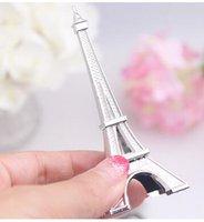 Wholesale Wedding favor Eiffel Tower Place Card Holder DHL Fedex