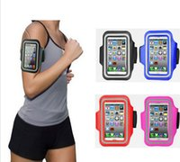 arm tracking - Running Jogging Sporty Workout Armband Case Cover Holder GYM Pouch for iPhone Phone Arm Band With Track
