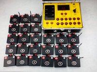 Interruttore Wedding ZYH1200R- 24 spunti display della radio Fuoco Fuochi d'artificio che infornano il sistema trasmettitore senza fili Celebrazione certificazione Partito 110-220V CE
