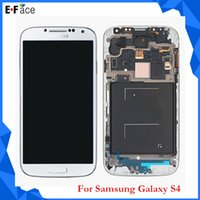 Wholesale Original Samsung Galaxy S4 i9500 i9505 I545 I337 M919 L720 R970 LCD Display Touch Screen Digitizer Assembly Free DHL Shipping