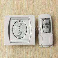 Wholesale 2015 New Arrival V HZ Channel RF Digital Wireless Remote Control Switch Power for Lighting M Range Air conditioning