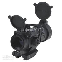 Wholesale Good Aimpoint M2 Type Red Dot Scope Sigh Laser t Rifle Reflex with gun Mount