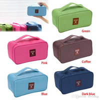 big cosmetic cases - Big Travel Underwear Lingerie Bra Bags Cosmetic Makeup Toiletry Storage Case