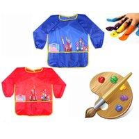 baking sleeve - Kids Children Kitchen Baking Painting Apron Sleeves Baby Art Cooking Bib Apron