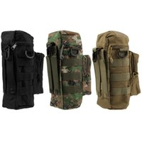 Wholesale Durable New Military Molle Outdoor Army Round Water Kettle Bag Colors In Stock