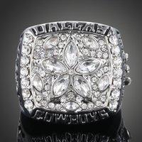 all'ingrosso dallas championship ring-Football americano 1995 cowboy di Dallas anello di campionato super cup 4 dimensioni Souvenir aviable collezione classica