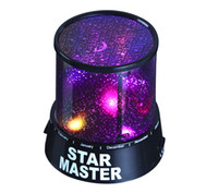 Wholesale 2015 retail fashion New Romantic Night light Kids Gift Sky Star LED Starry Party Projector Lamp