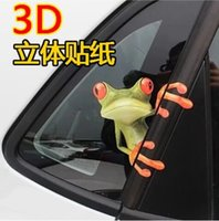 Wholesale creative Fashion Mr Frog D Car Stickers Decal Accessories new design