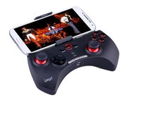 Wholesale Ipega Wireless Bluetooth Game Games BT Controller Rechargeable Multimedia Gamepad Stand for Android iOS PC ipod iPhone Samsung Galaxy