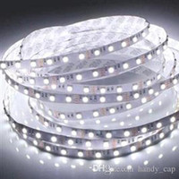 Wholesale LED Strips SMD LED Strip White Blue Yellow Red Green Leds m Waterproof M Flexible Single Color Light Beautiful LED Strips
