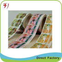 Wholesale Customized printable sticker labels paper printing labels customized private label