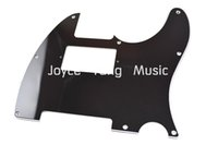 Wholesale Black PLY Electric Guitar Pickguard Humbucker Pick Up Cut Pickguard For Fender Tele Style Guitar Wholesales