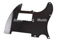 Wholesale Black PLY Electric Guitar Pickguard Humbucker Pick Up Cut Pickguard For Fender Tele Style Guitar Wholesales