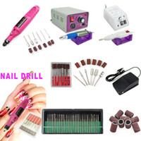 acrylic nail drill - Factory Bits Electric Beauty Nail Art File Drill Pedicure Manicure Acrylic Kit for Nail Salon