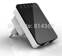 Wholesale Wireless wifi repeater M wifi signal booster wifi signal amplifier AP router through walls switcher