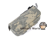 Wholesale 3 Colors ROGISI Airsoft Tactical D Cordura Nylon MOLLE Shockproof Waterproof Glasses Box Case ACU Black CB order lt no track
