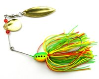 3d lure eyes - 16 g Spiner Bait Rubber jig Spinner baits jig head With D eyes For Fishing Pesca Lures Hard Spoon Baits Lures AK051