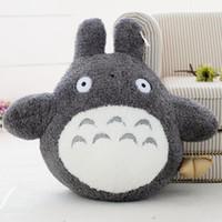 best dumpling - 22cm Japanese Anime Miyazaki Hayao Famous Cartoon Totoro Plush Stuffed Animal Doll Toy Totoro With Rice Dumpling Best Gift For Children