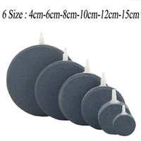 aquarium filter size - 6 Size Aquarium Fish Tank Air Stone Filter Air Bubble Round Air Stone Air Pump cm cm cm cm cm cm