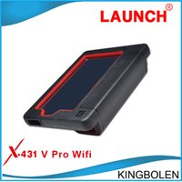 Wholesale New Arrival Launch X431 V X431V Global Version Universal Scanner For Many Cars With Bluetooth Wifi and Touch Screen Three years warranty